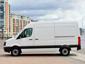 Ver foto 6 de Volkswagen Crafter High Roof Van UK 2011