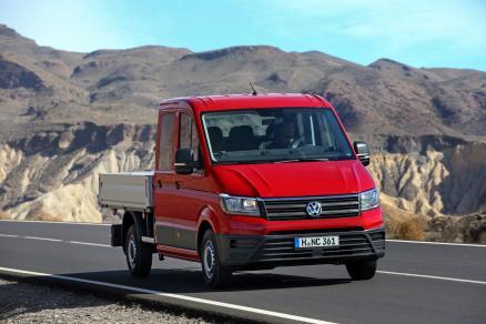 Volkswagen Crafter Ch. Cb. Carrozado 2.0tdi Scr 35 Bm L3 103kw