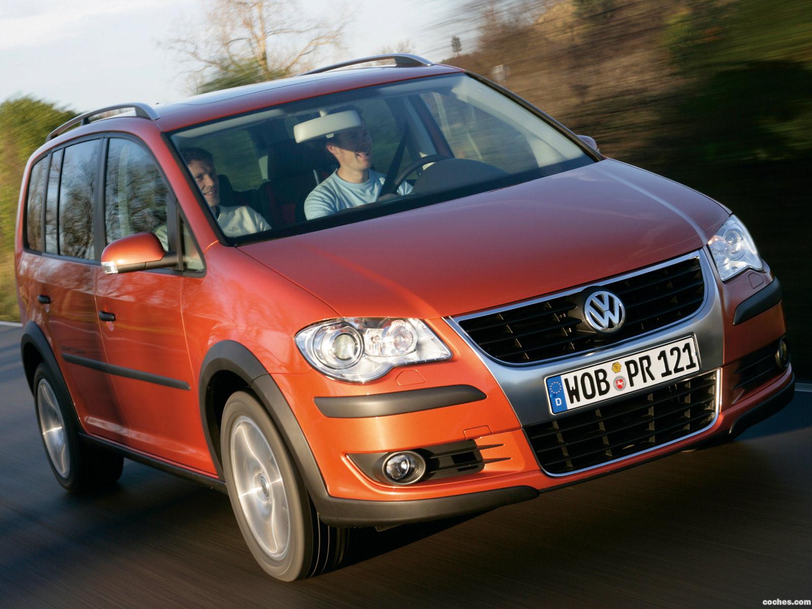 Foto 3 de Volkswagen Cross Touran 2007