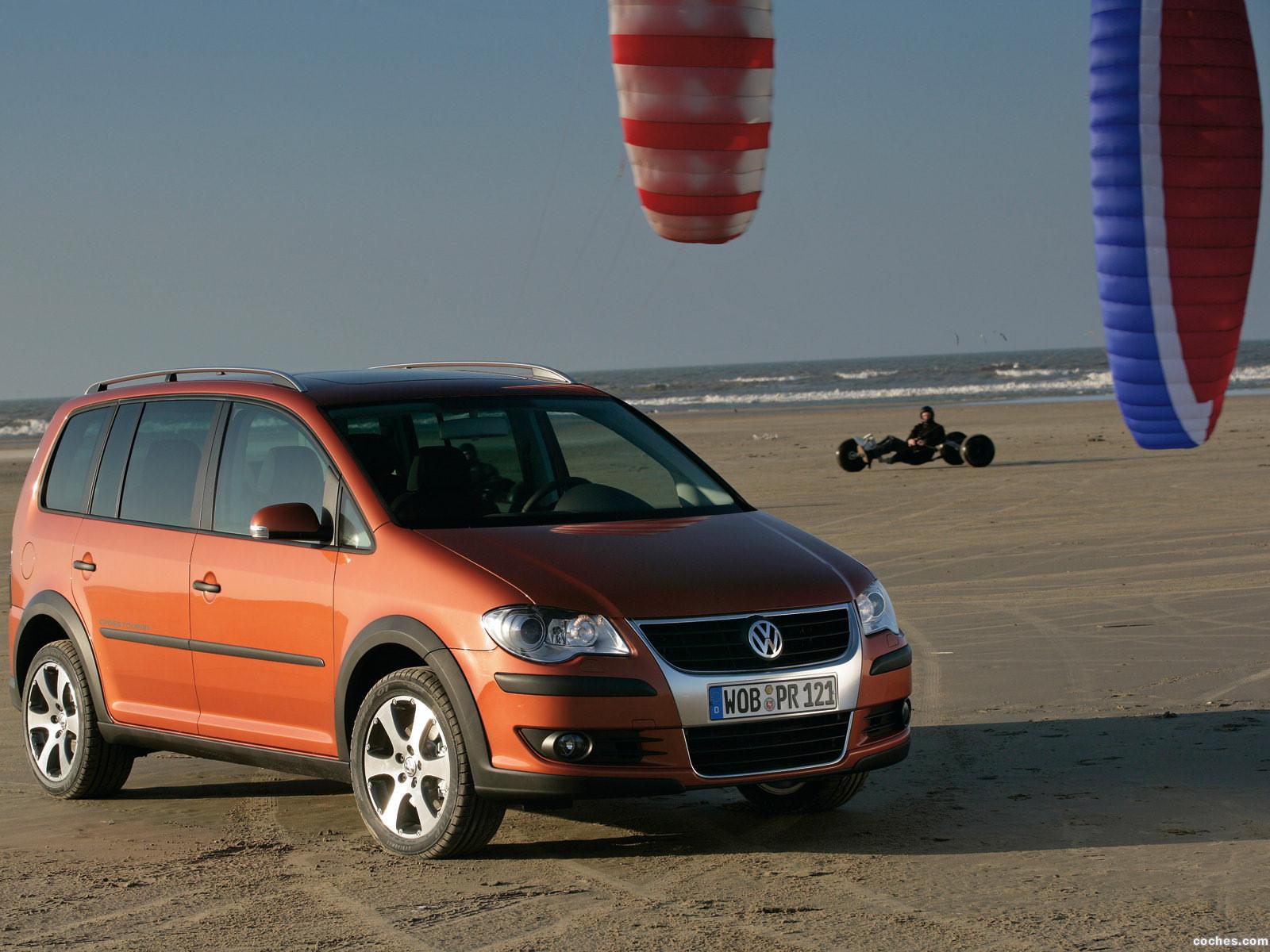 Foto 0 de Volkswagen Cross Touran 2007