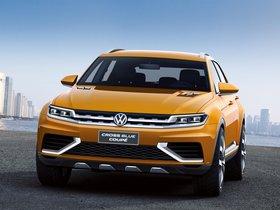 Ver foto 3 de Volkswagen CrossBlue Coupe Concept 2013