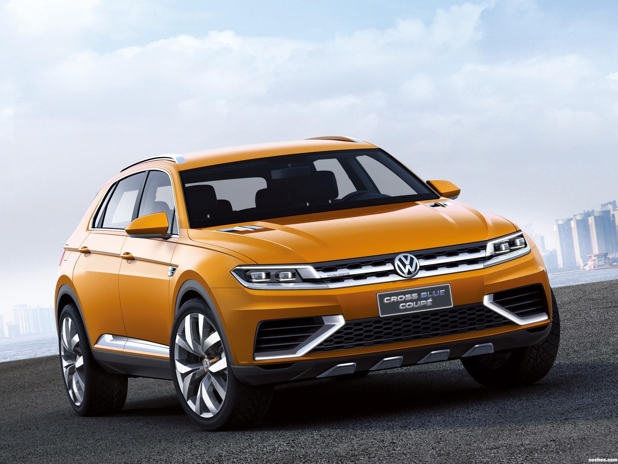 Foto 0 de Volkswagen CrossBlue Coupe Concept 2013