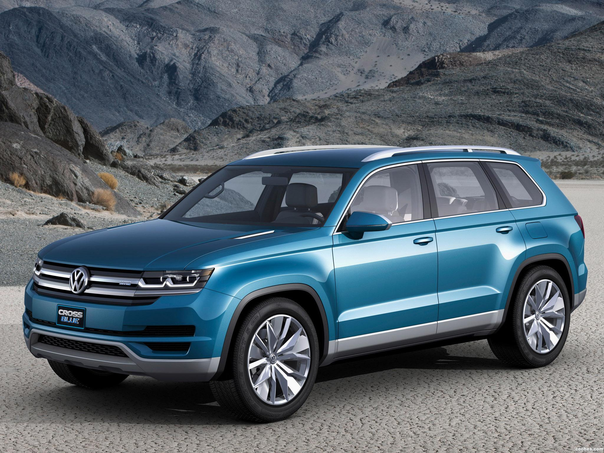 Foto 0 de Volkswagen Crossblue Concept 2013
