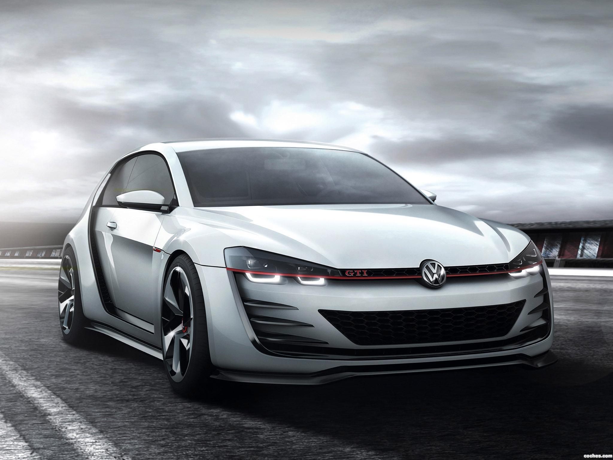 Foto 0 de Volkswagen Design Vision GTI Concept 2013