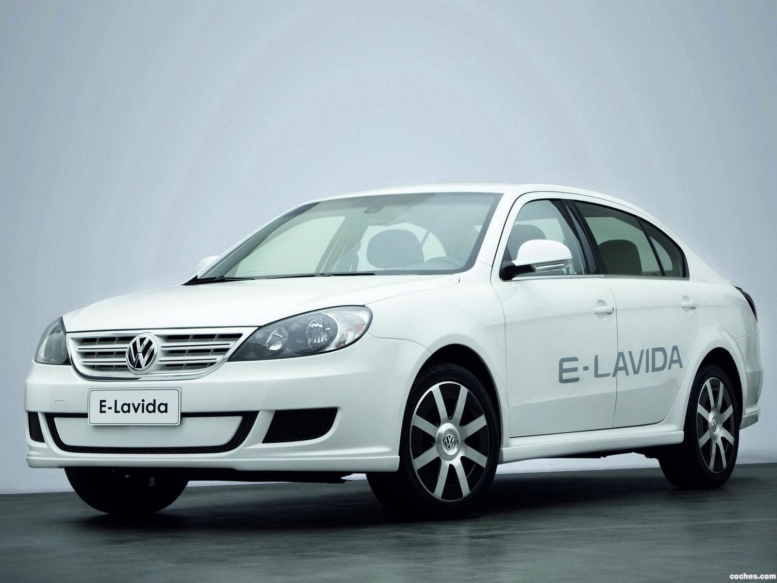 Foto 0 de Volkswagen E-Lavida Concept 2010