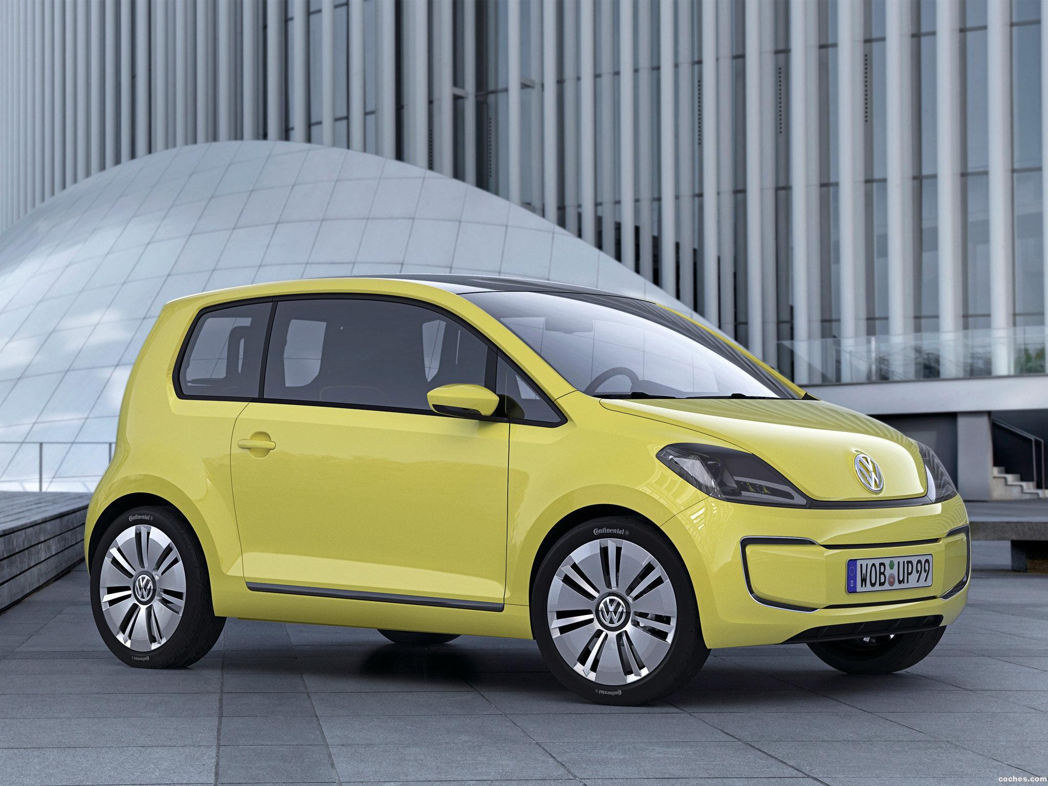 Foto 0 de Volkswagen e-Up! Concept 2009