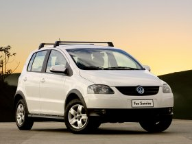 Fotos de Volkswagen Fox Sunrise 2009