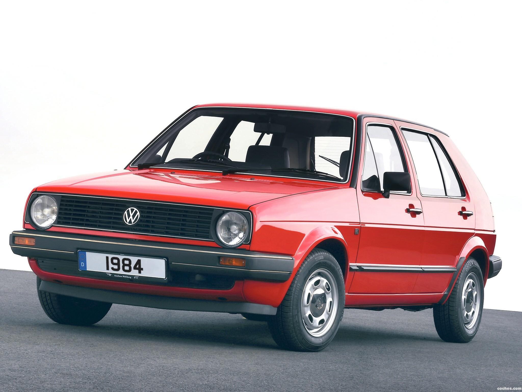 Foto 1 de Volkswagen Golf II 3 puertas 1983