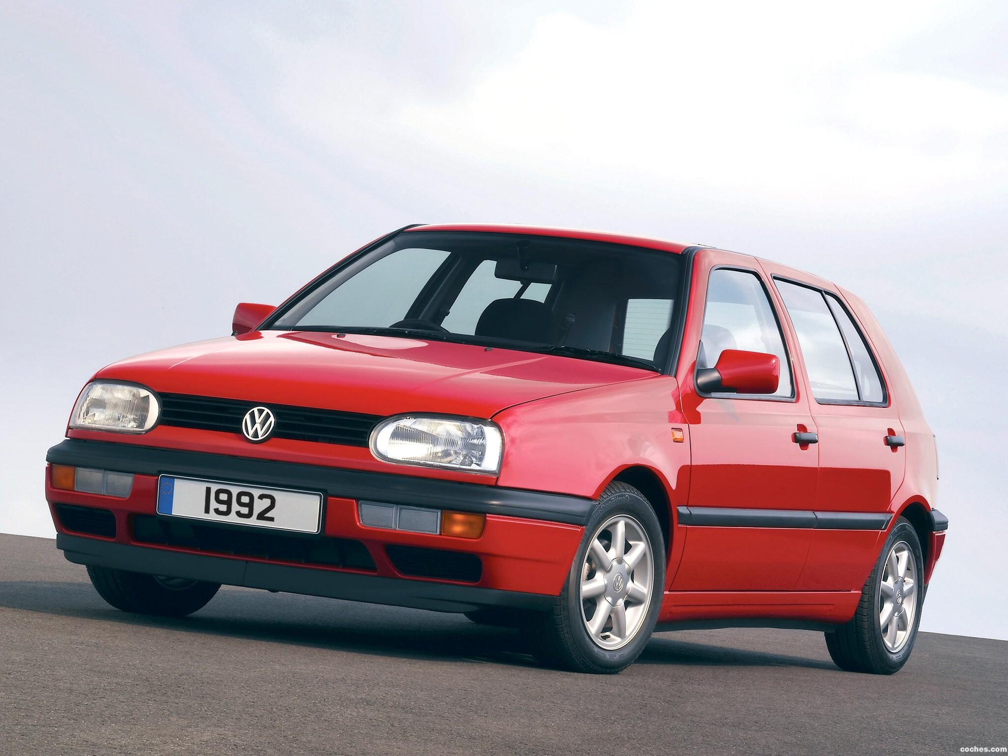 Foto 0 de Volkswagen Golf III 1992