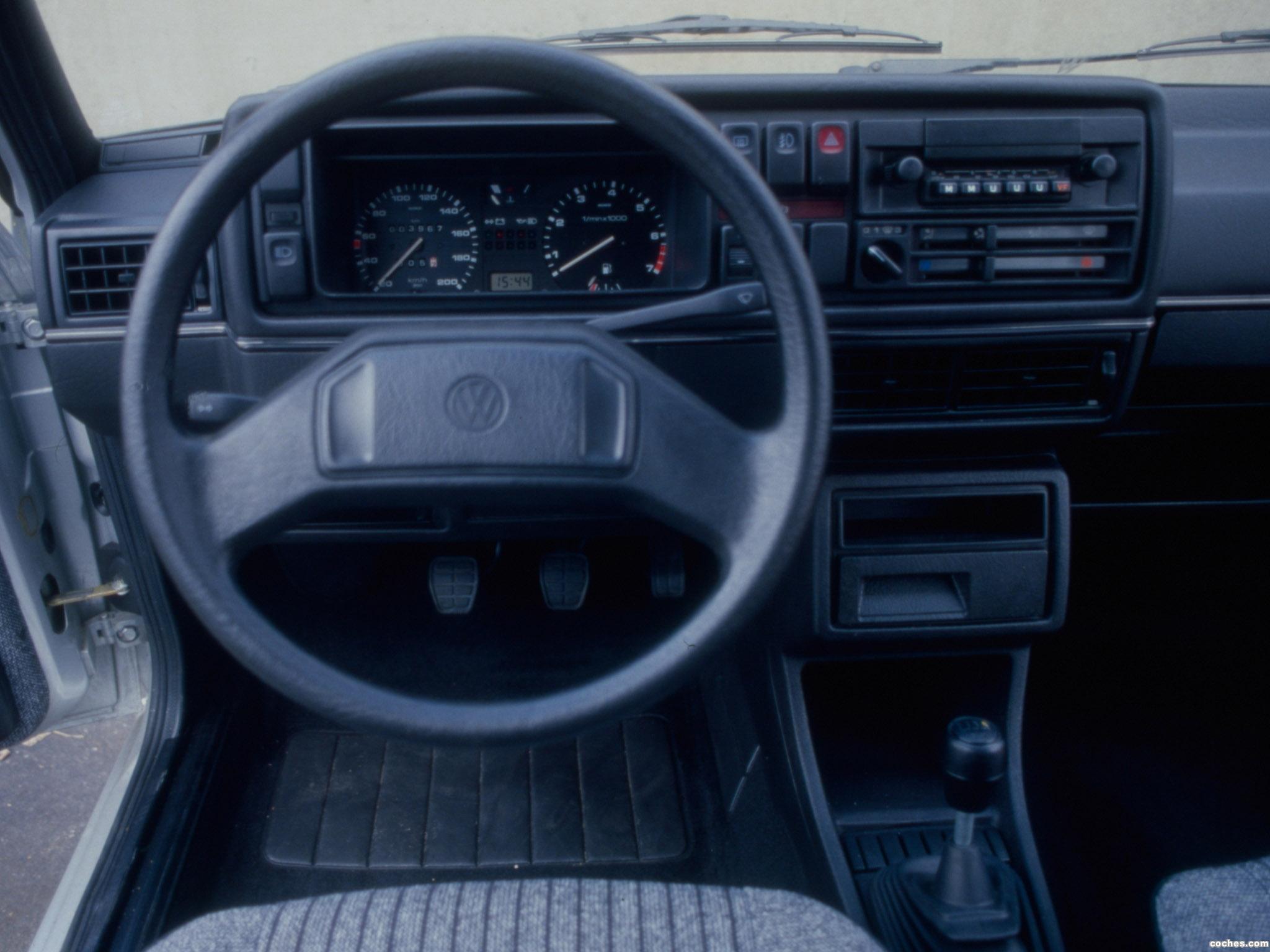 Foto 5 de Volkswagen Golf II 3 puertas 1983