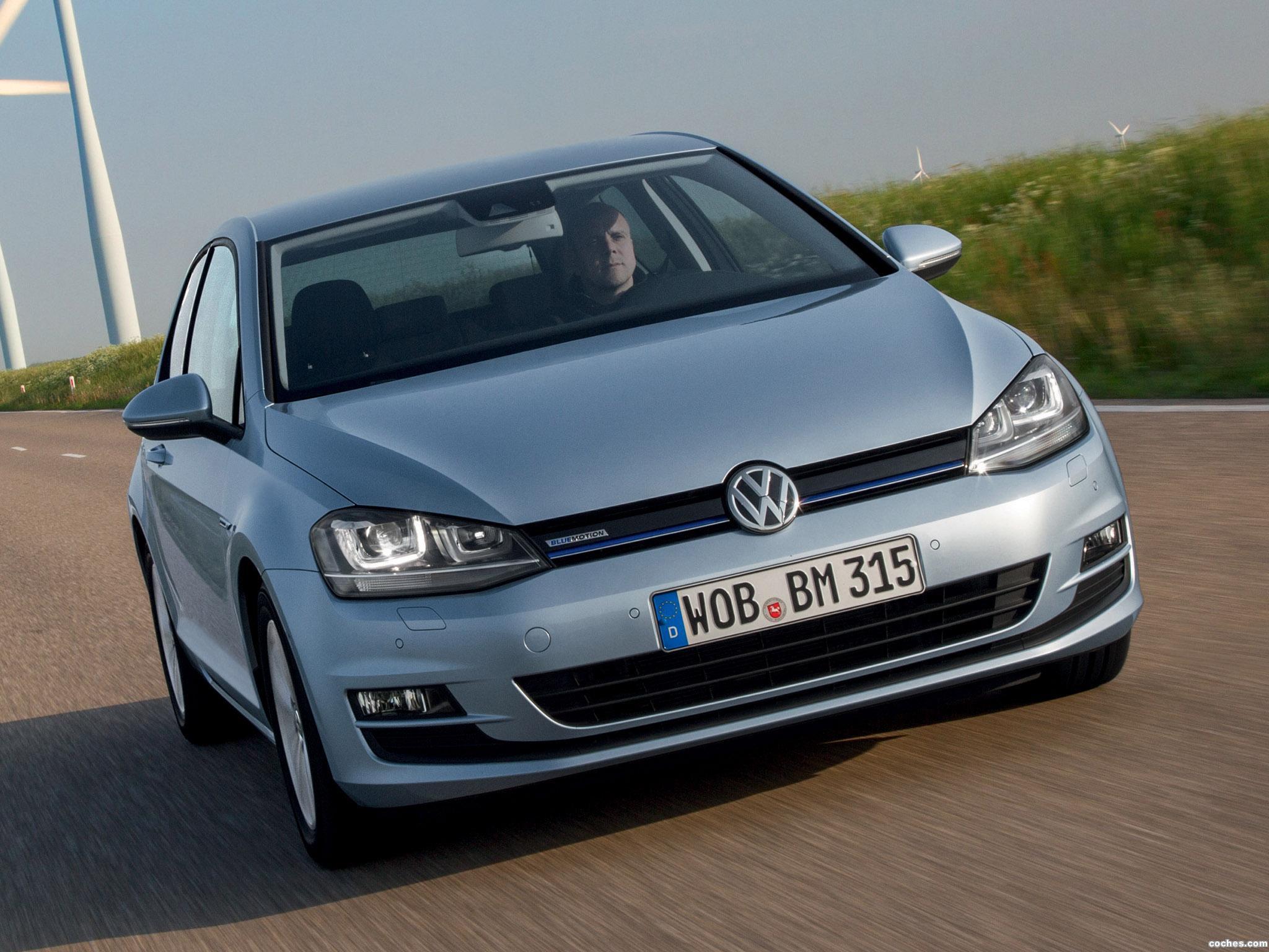 Foto 0 de Volkswagen Golf 7 3 puertas TDI BlueMotion 2013