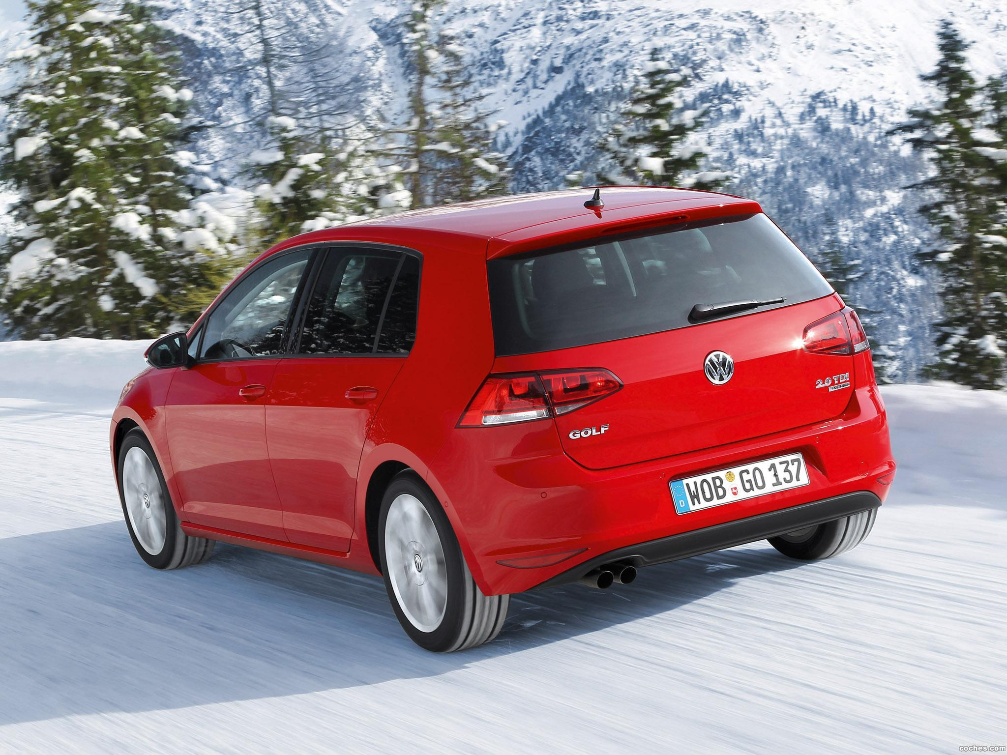Foto 5 de Volkswagen Golf 4Motion 2013