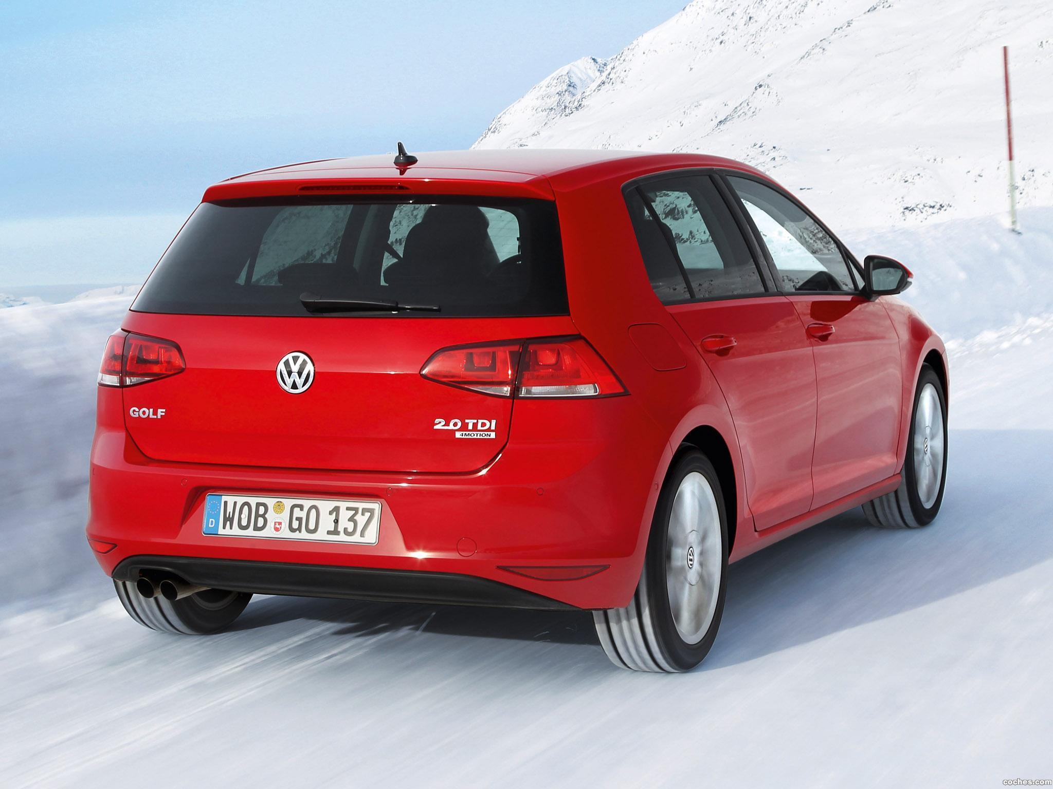 Foto 2 de Volkswagen Golf 4Motion 2013