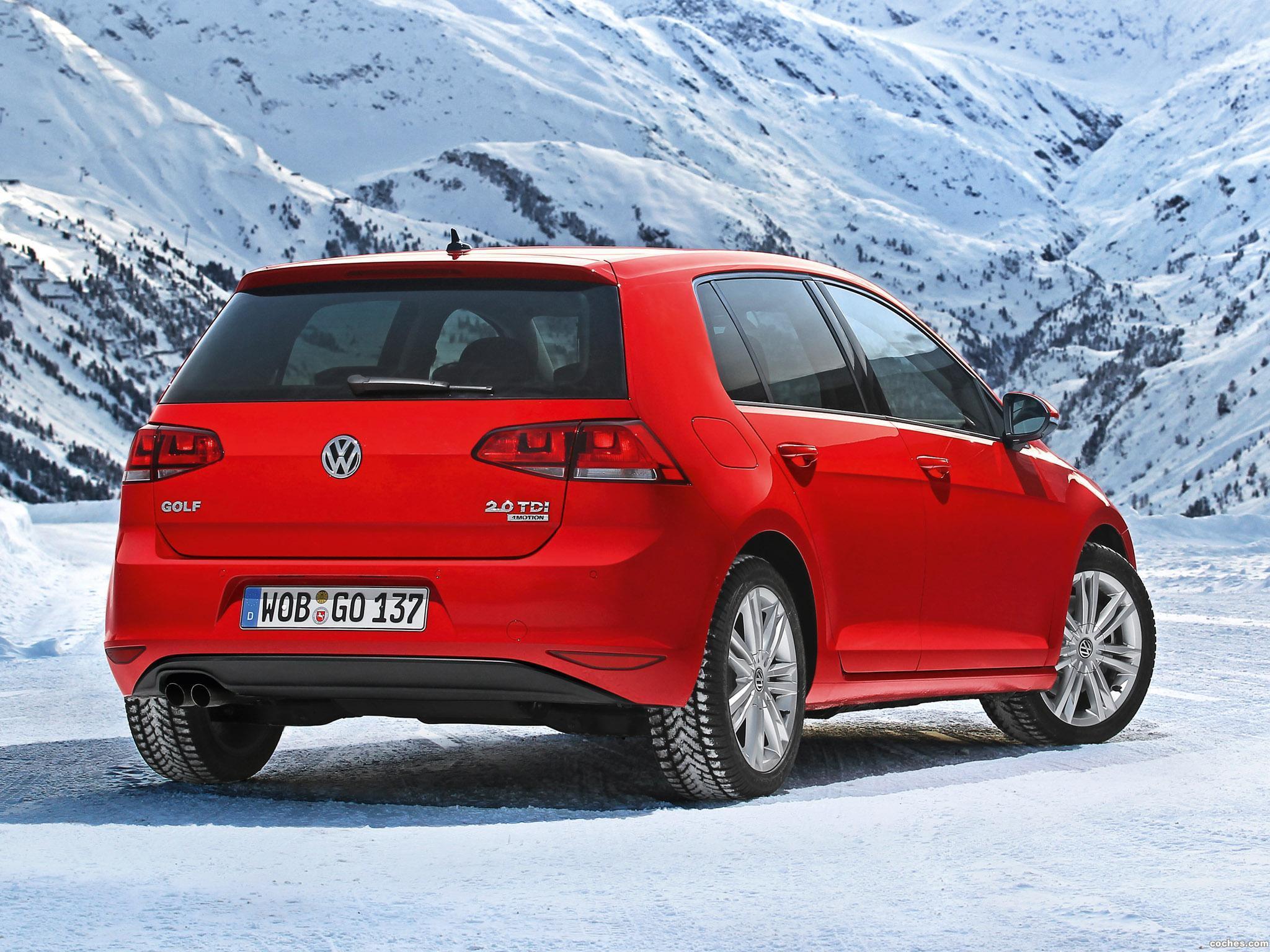 Foto 10 de Volkswagen Golf 4Motion 2013