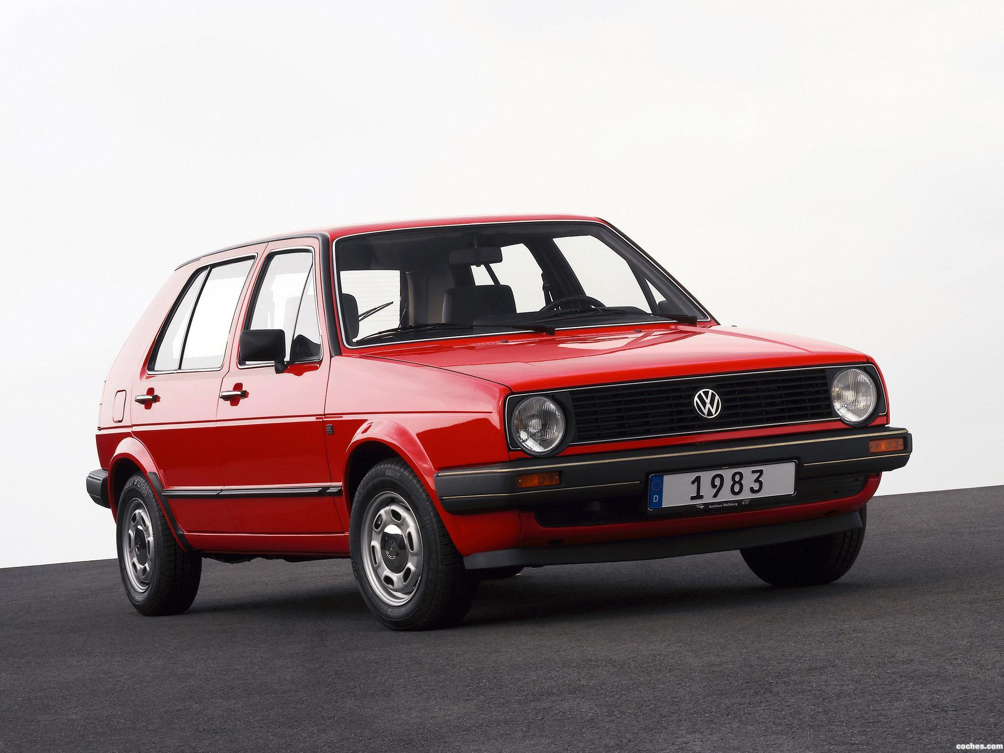 Foto 0 de Volkswagen Golf I 5 puertas 1983