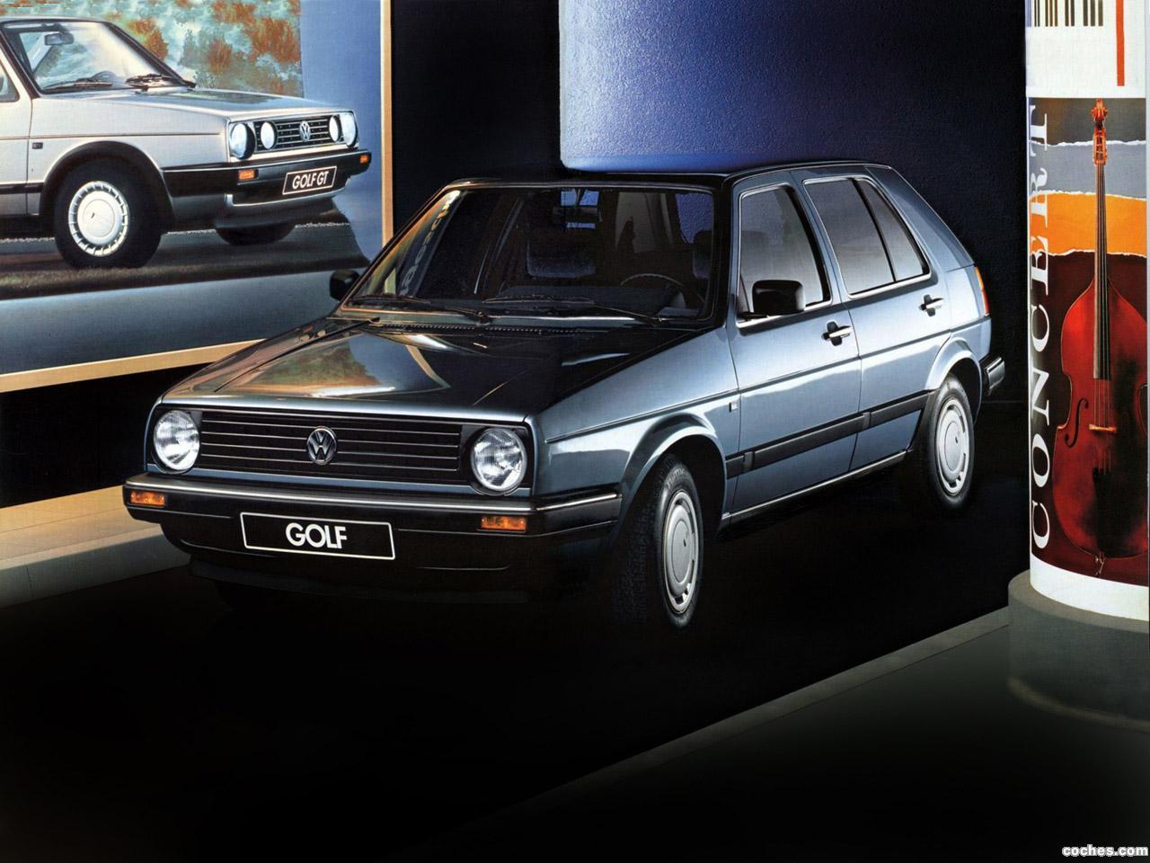 Foto 0 de Volkswagen Golf II 5 puertas 1987