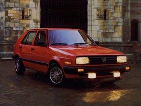 Fotos de Volkswagen Golf II 5 puertas USA 1987