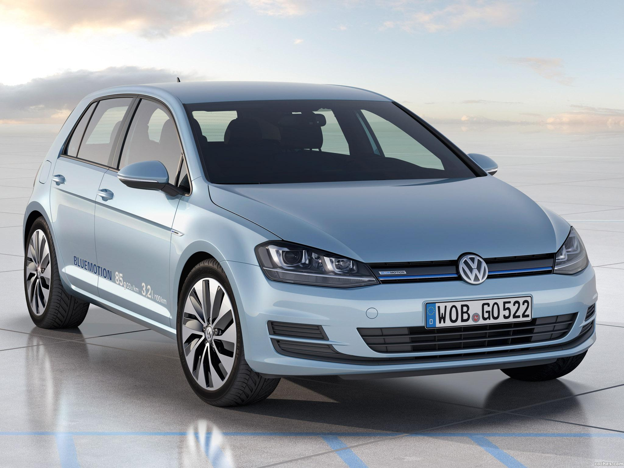 Foto 0 de Volkswagen Golf BlueMotion Concept 2012