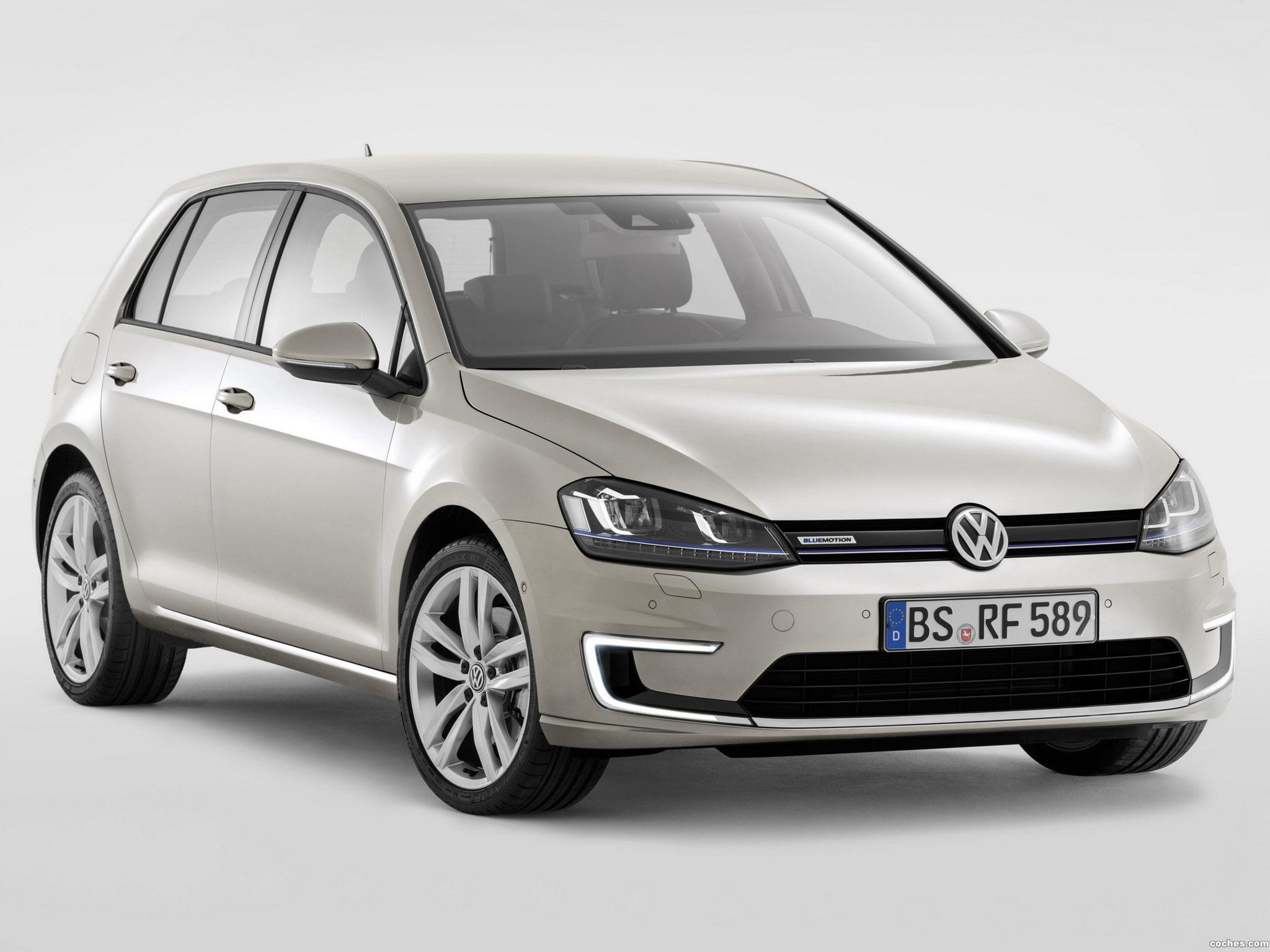 Foto 0 de Volkswagen Golf BlueMotion TwinDrive Concept 2013