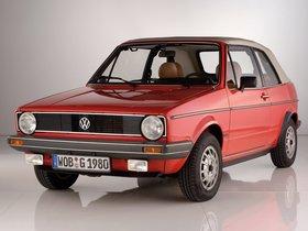 Fotos de Volkswagen Golf I Cabrio 1979