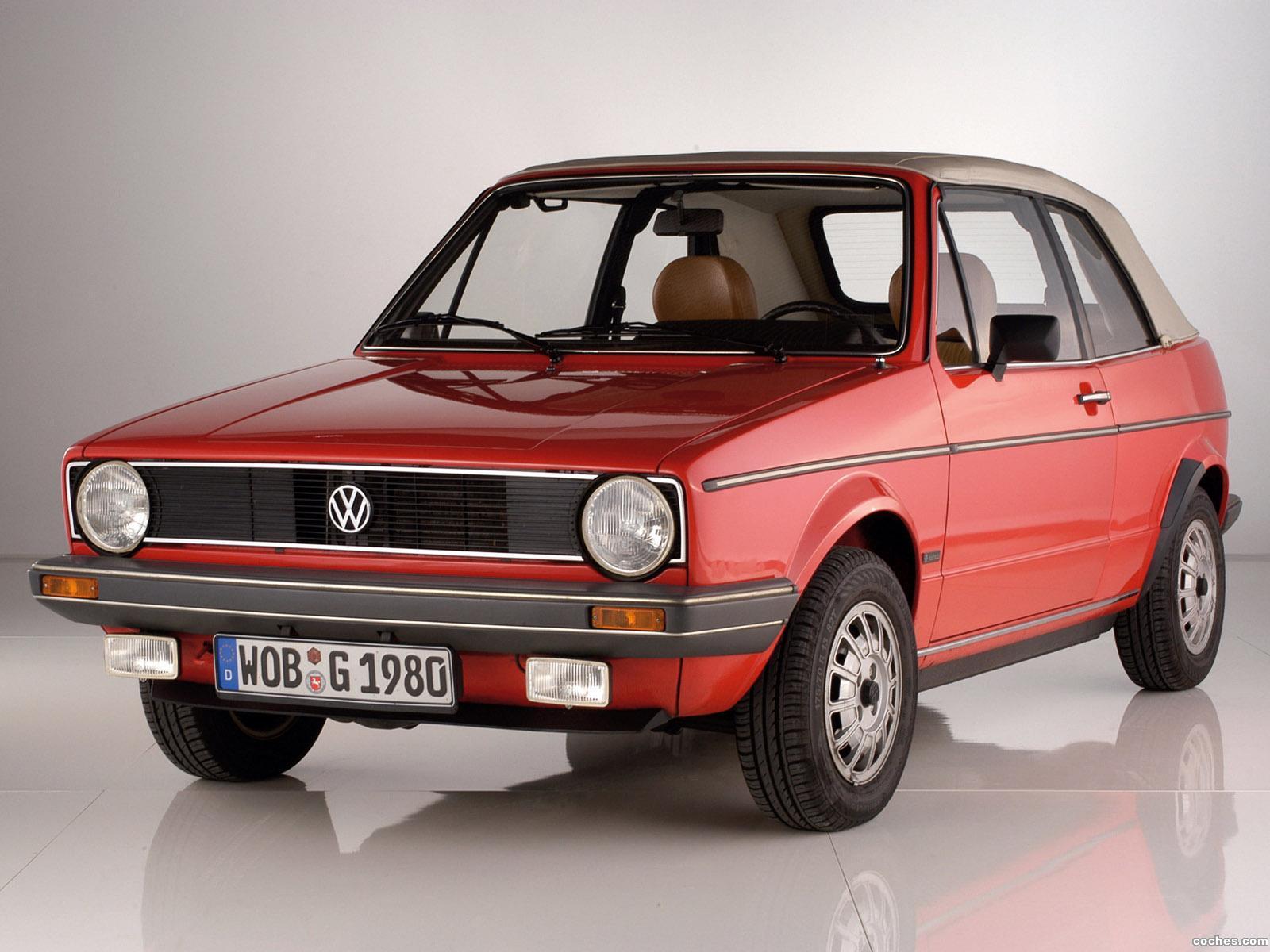 Foto 0 de Volkswagen Golf I Cabrio 1979