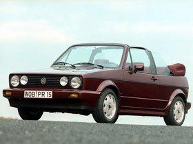 Fotos de Volkswagen Golf Cabrio Etienne Aigner 1990