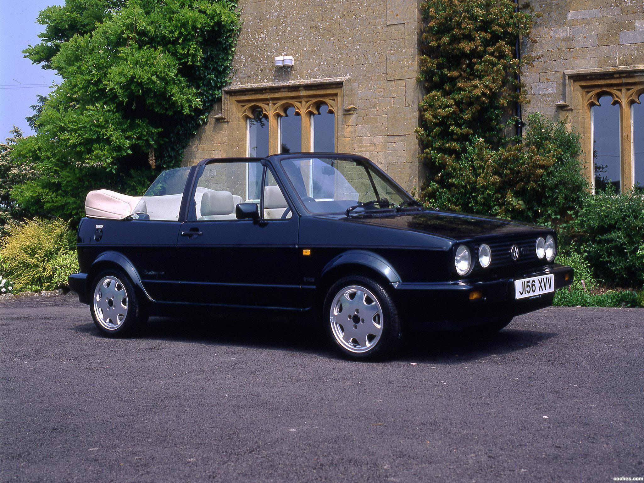 Foto 0 de Volkswagen Golf Cabrio UK 1988