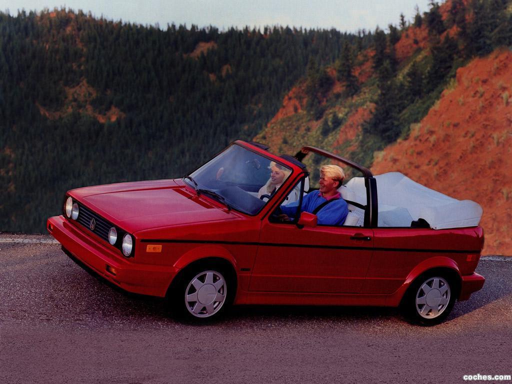 Foto 0 de Volkswagen Golf II Cabriolet 1988