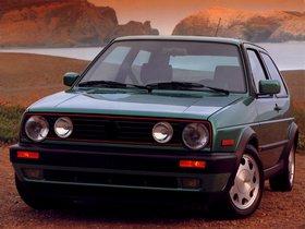 Fotos de Volkswagen Golf GT 3 Puertas USA 1987