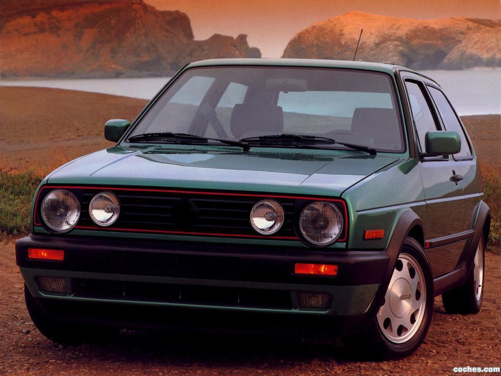 Foto 0 de Volkswagen Golf GT 3 Puertas USA 1987
