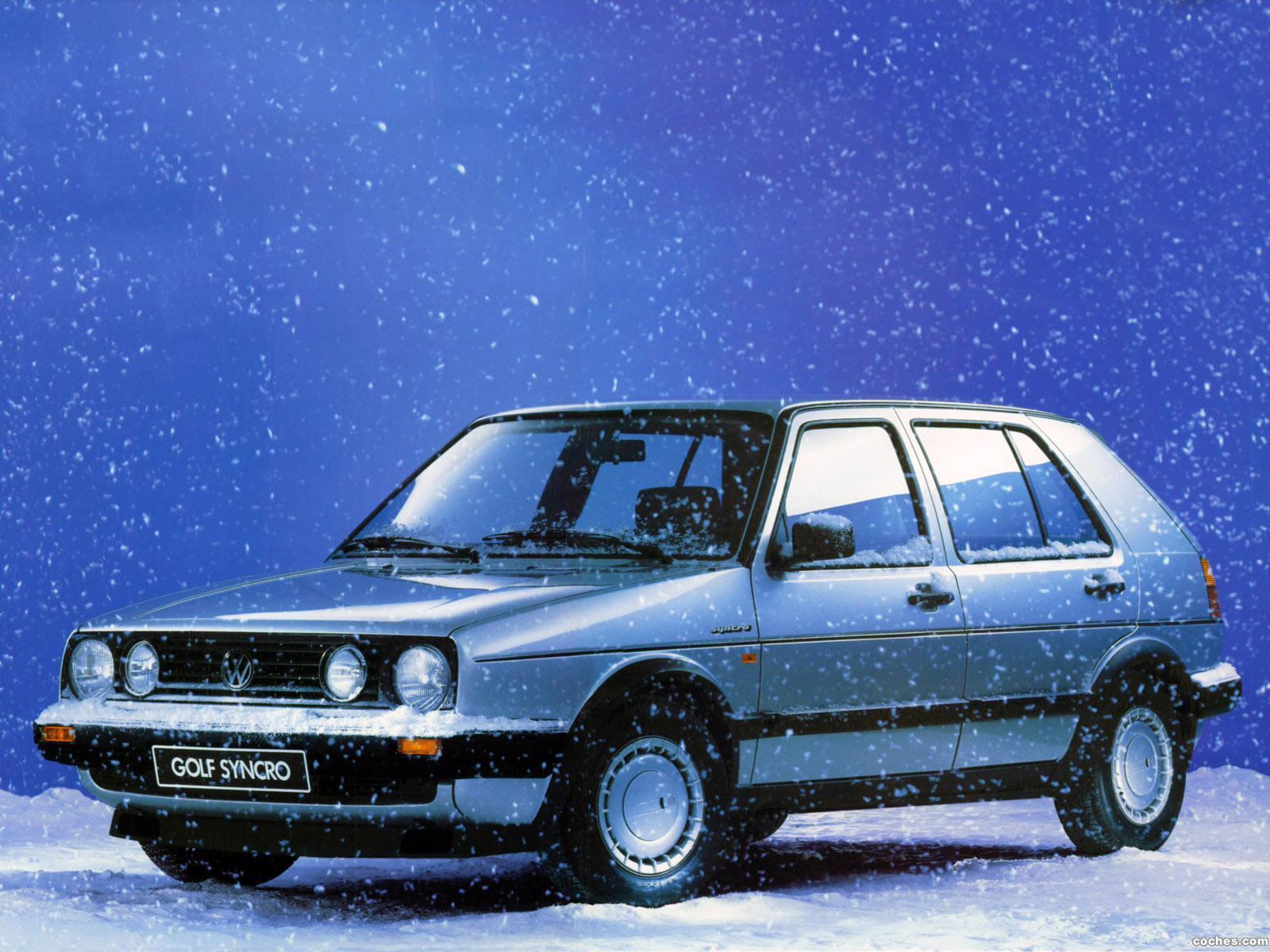 Foto 0 de Volkswagen Golf GT Syncro 5 Puertas 1987