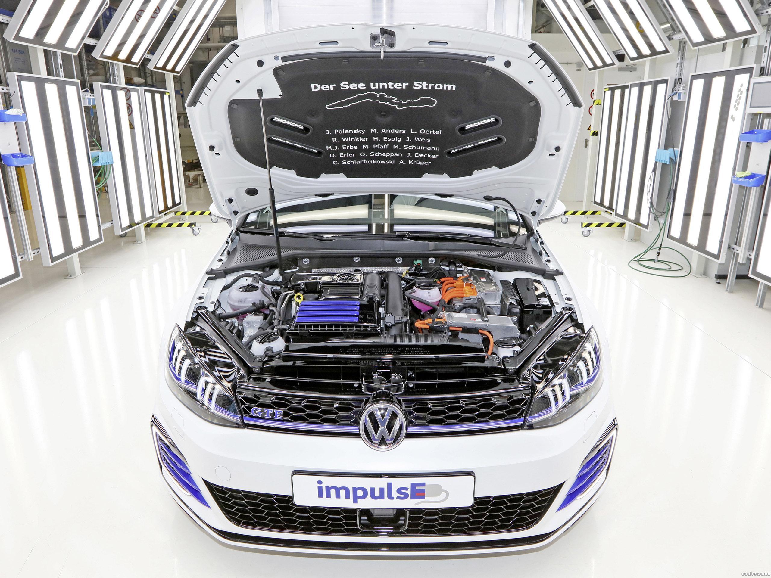 Foto 3 de Volkswagen Golf GTE Variant Impulse  2017
