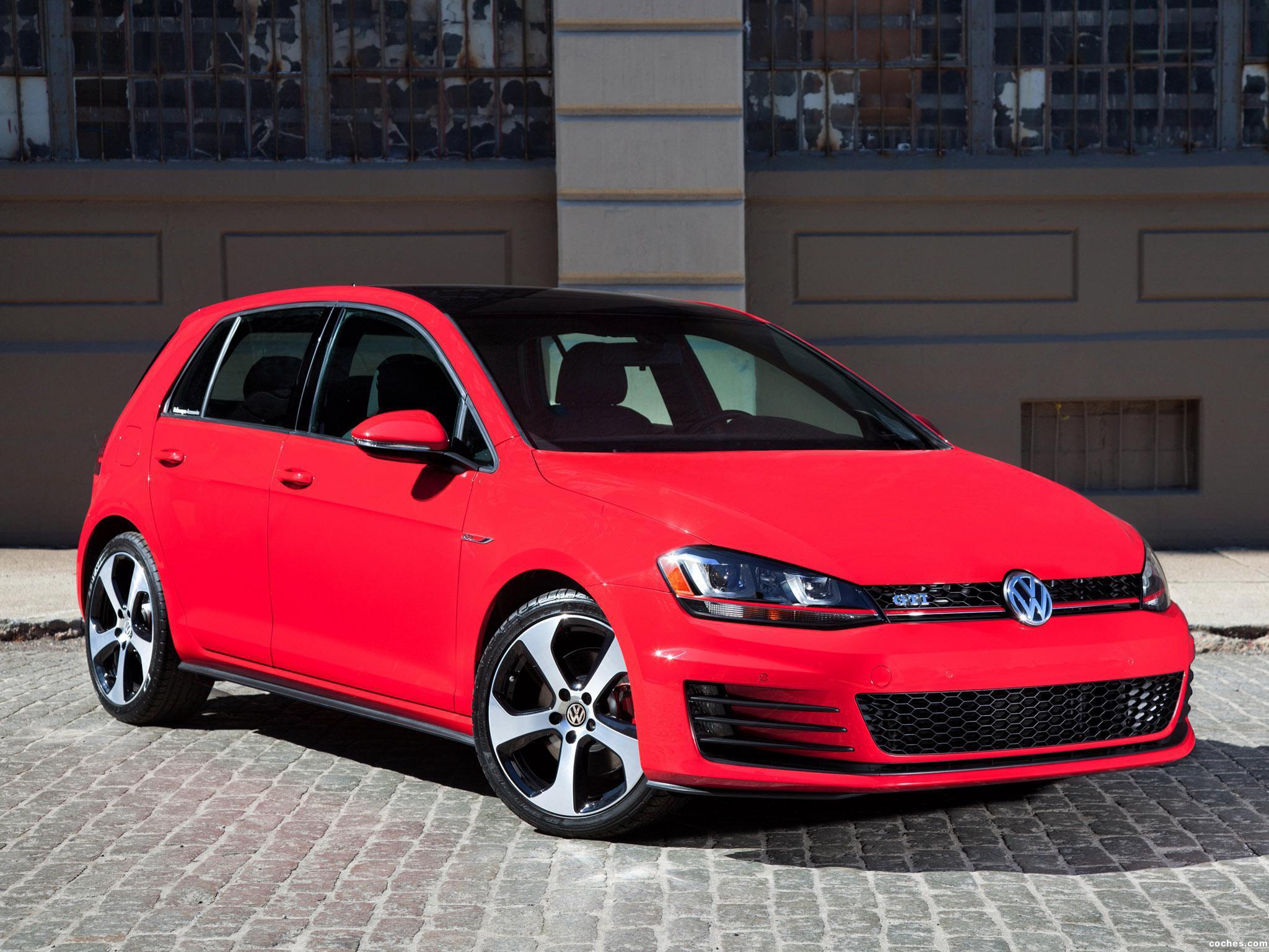 Foto 0 de Volkswagen Golf GTI 5 Puertas USA 2014