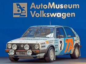 Ver foto 4 de Volkswagen Golf GTI Rally Car 1984