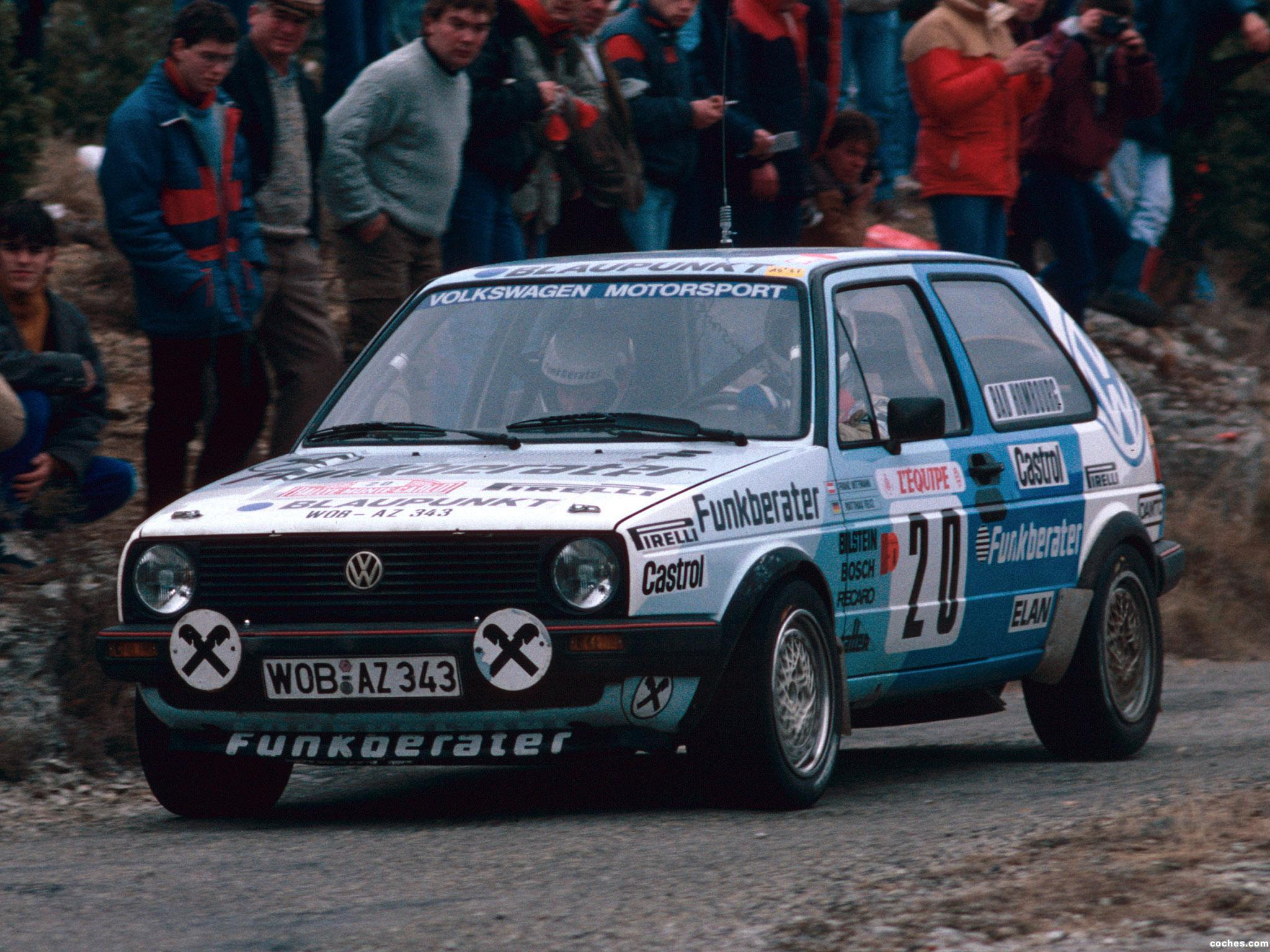 Foto 0 de Volkswagen Golf GTI Rally Car 1984