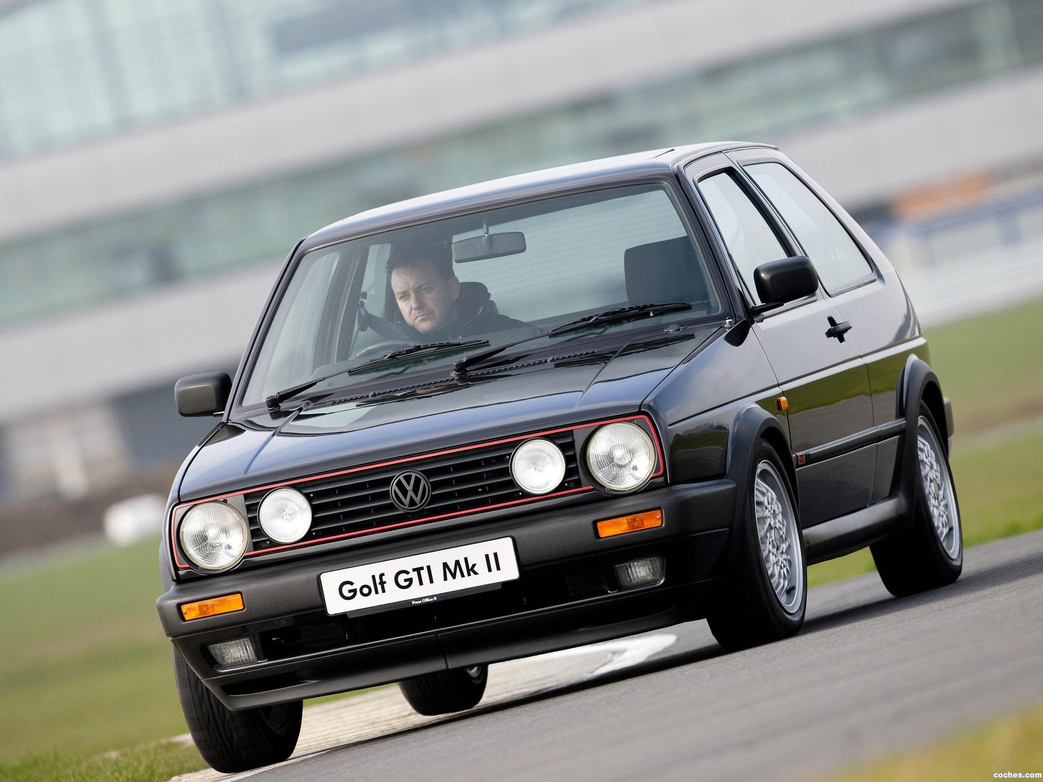 Foto 0 de Volkswagen Golf II GTI UK 1989