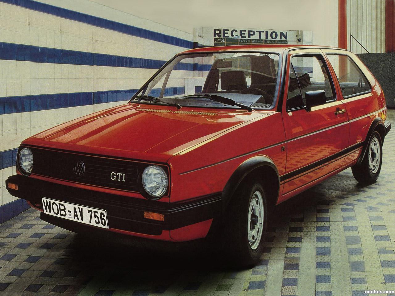 Foto 0 de Volkswagen Golf GTI 1988