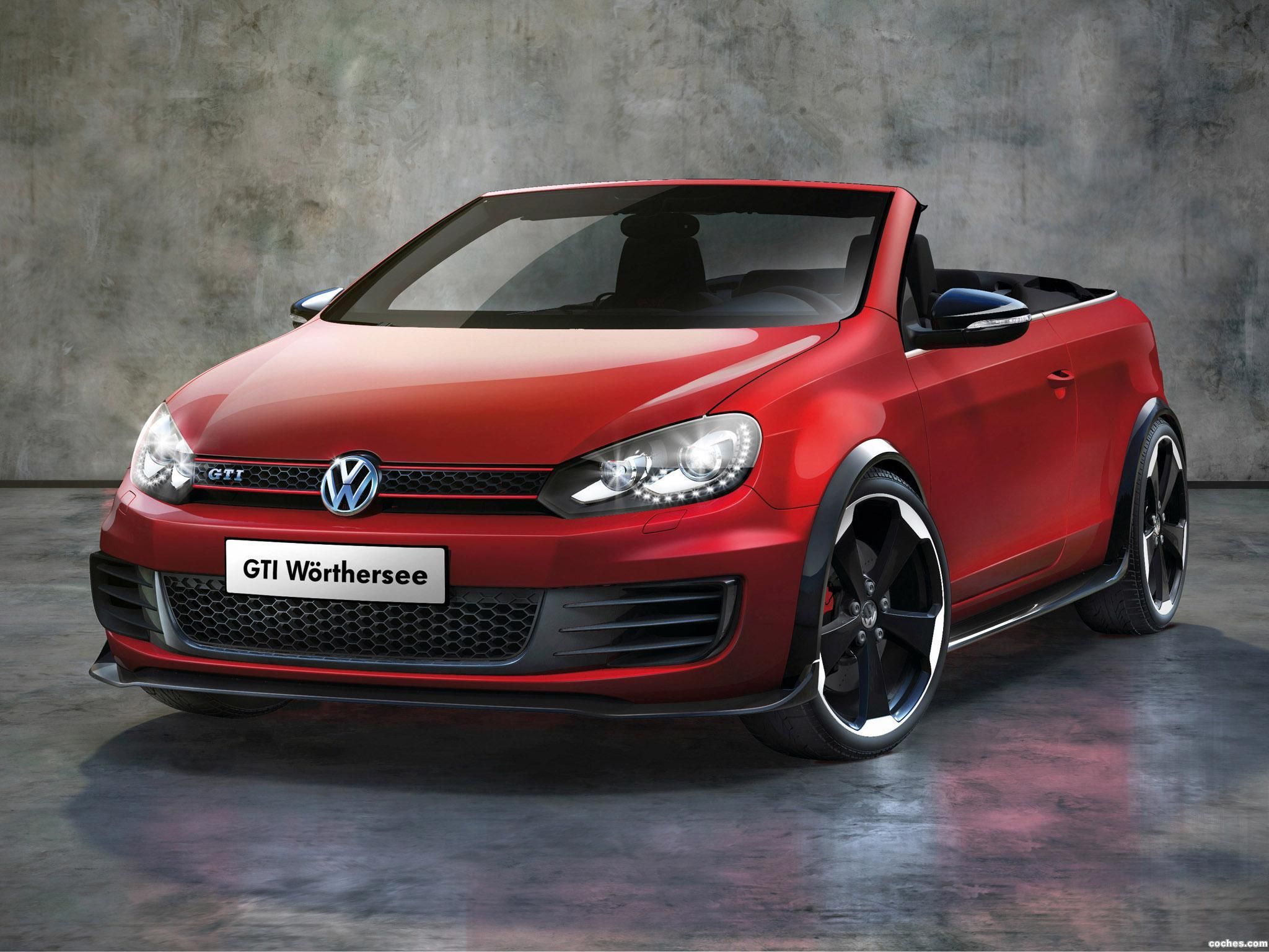 Foto 0 de Volkswagen Golf VI GTi Cabrio Concept 2011
