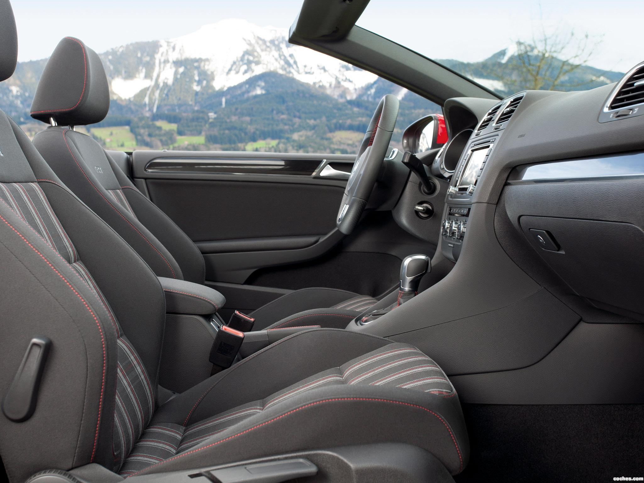 Foto 43 de Volkswagen Golf VI GTI Cabriolet 2012