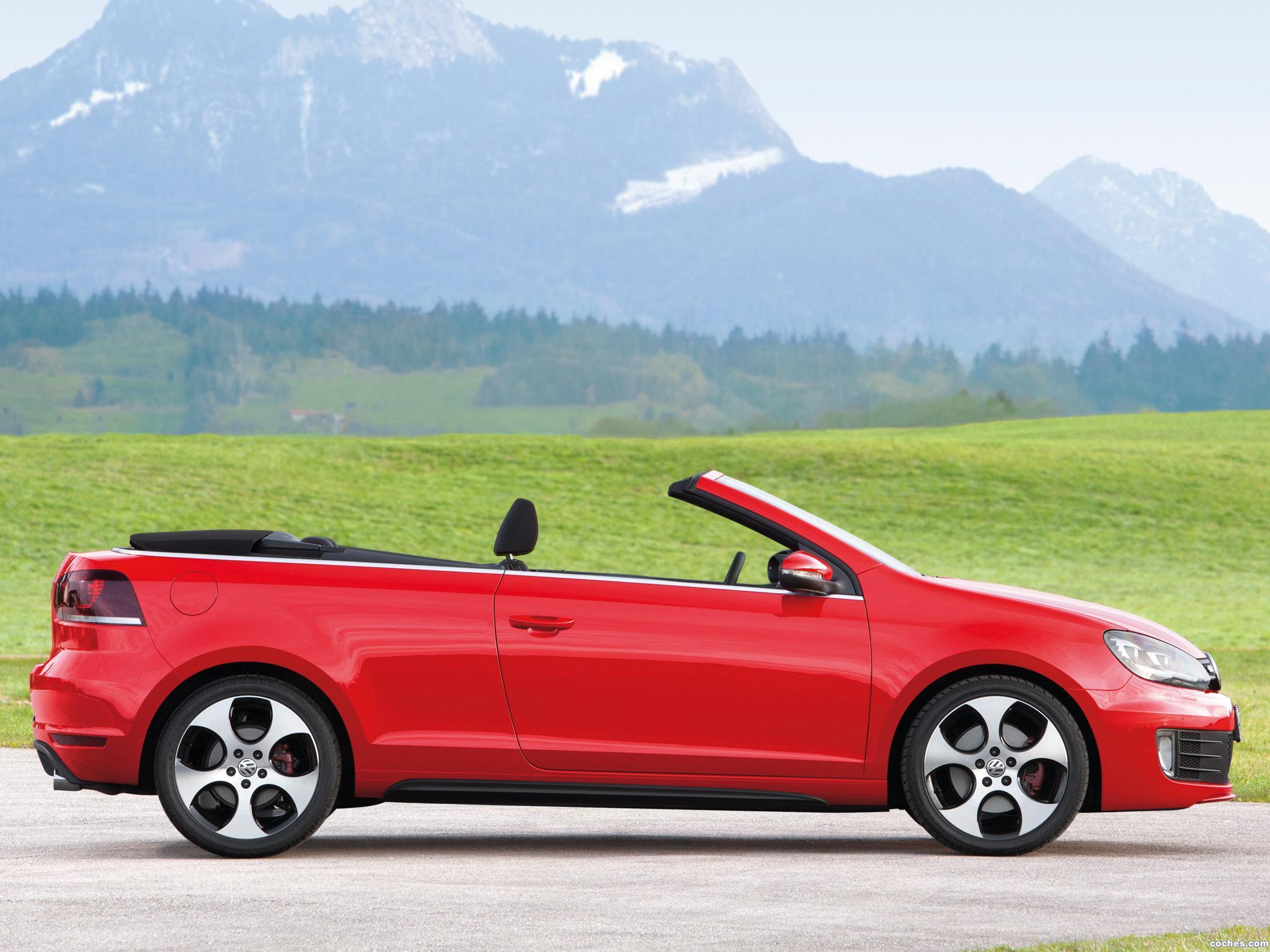 Foto 36 de Volkswagen Golf VI GTI Cabriolet 2012