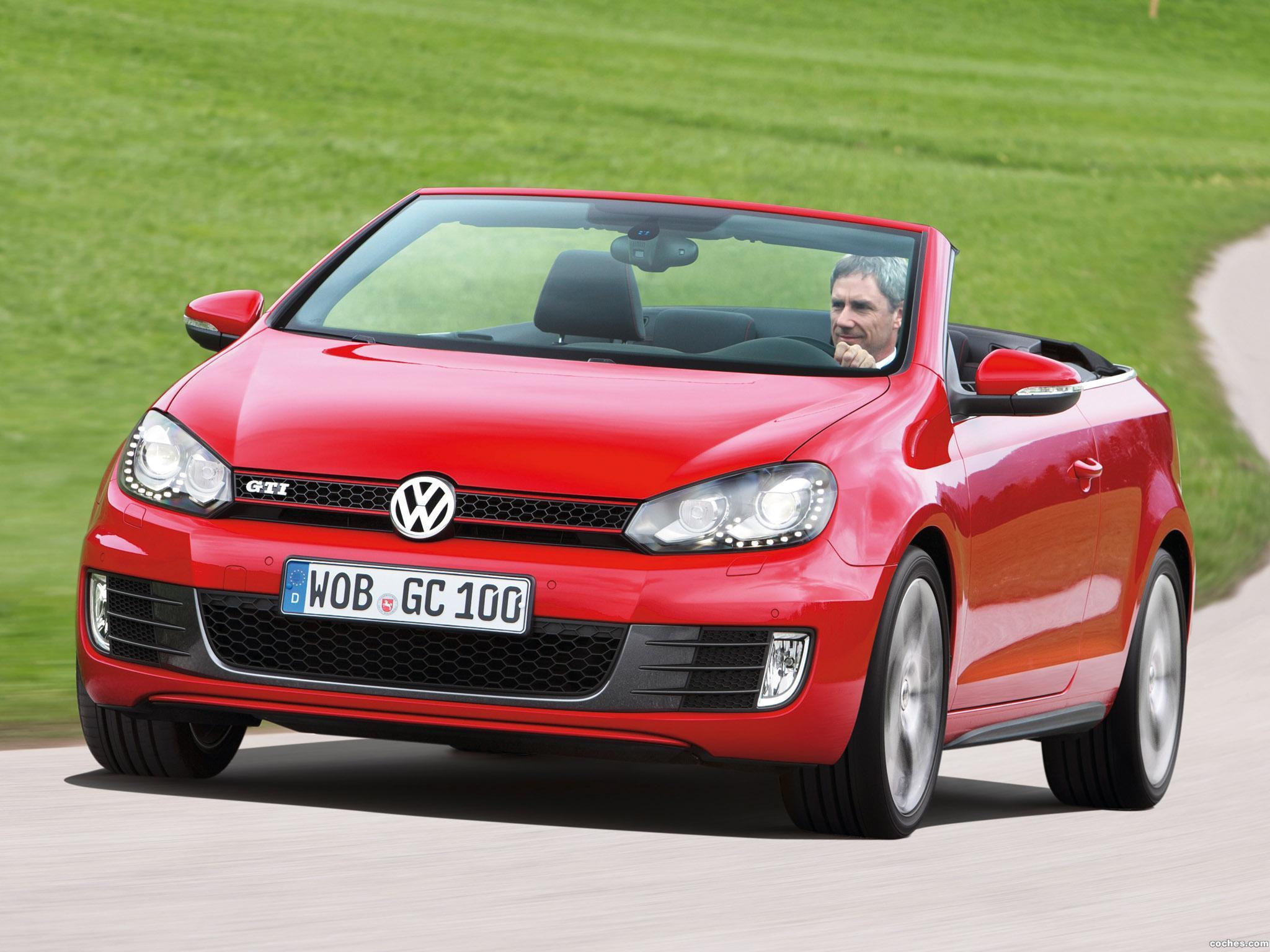 Foto 34 de Volkswagen Golf VI GTI Cabriolet 2012