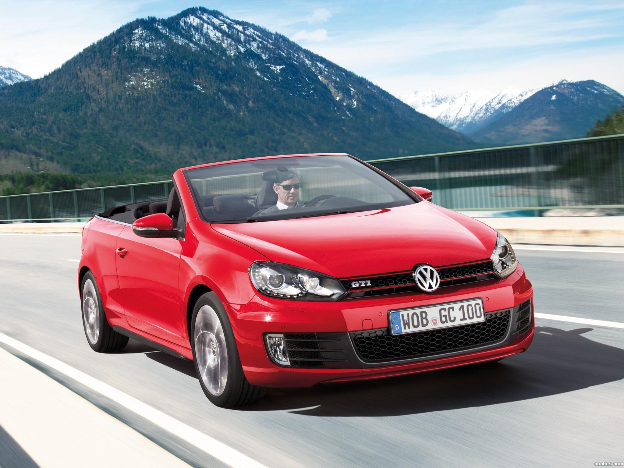 Foto 30 de Volkswagen Golf VI GTI Cabriolet 2012