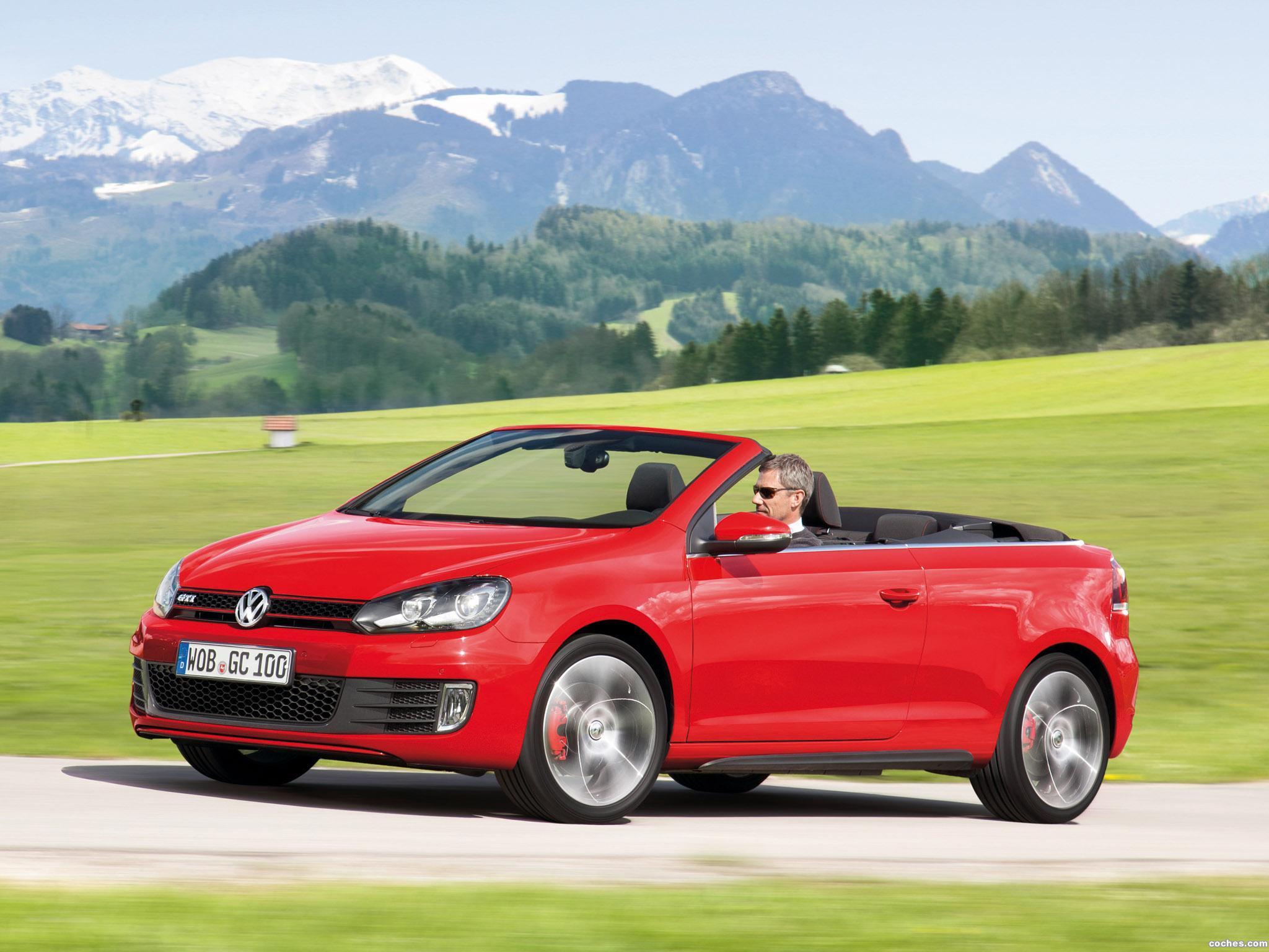 Foto 29 de Volkswagen Golf VI GTI Cabriolet 2012