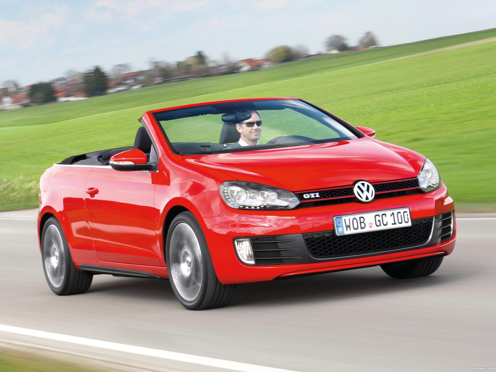 Foto 26 de Volkswagen Golf VI GTI Cabriolet 2012