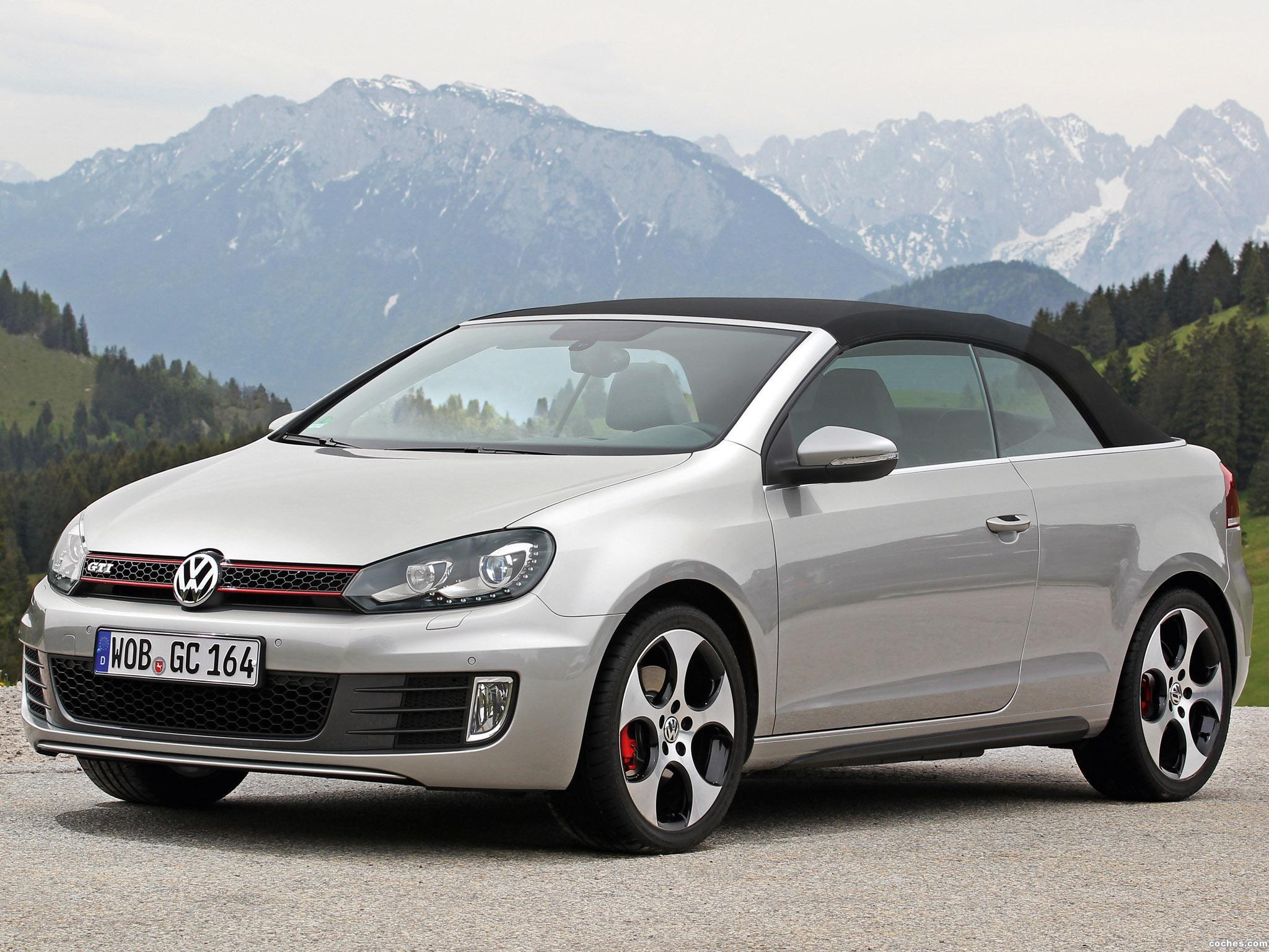 Foto 13 de Volkswagen Golf VI GTI Cabriolet 2012