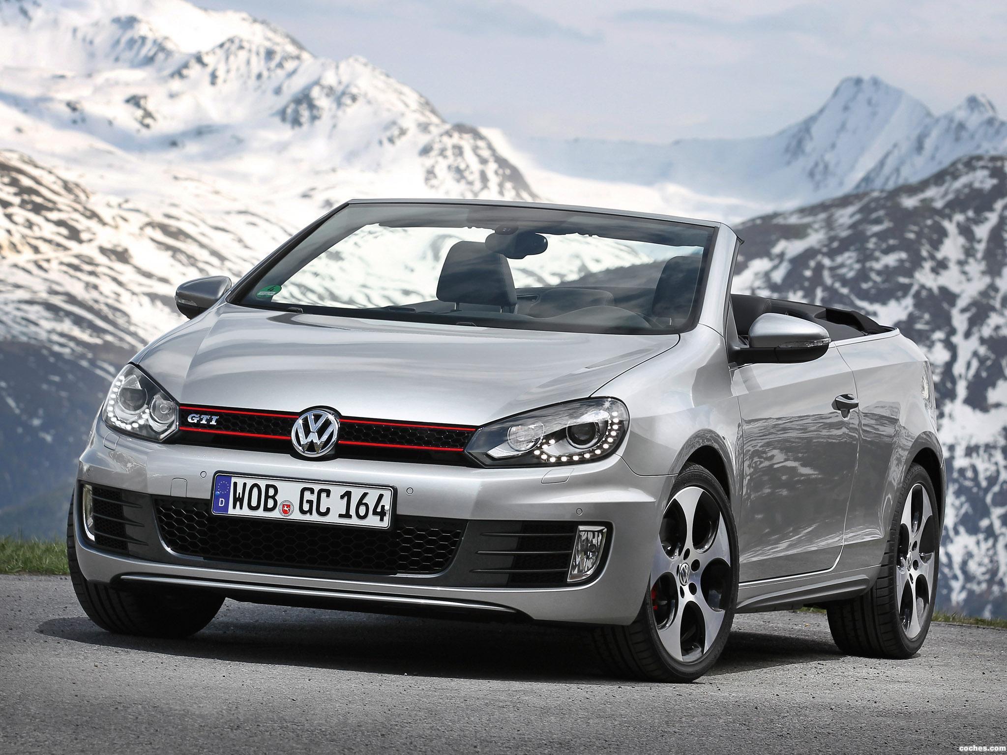 Foto 10 de Volkswagen Golf VI GTI Cabriolet 2012