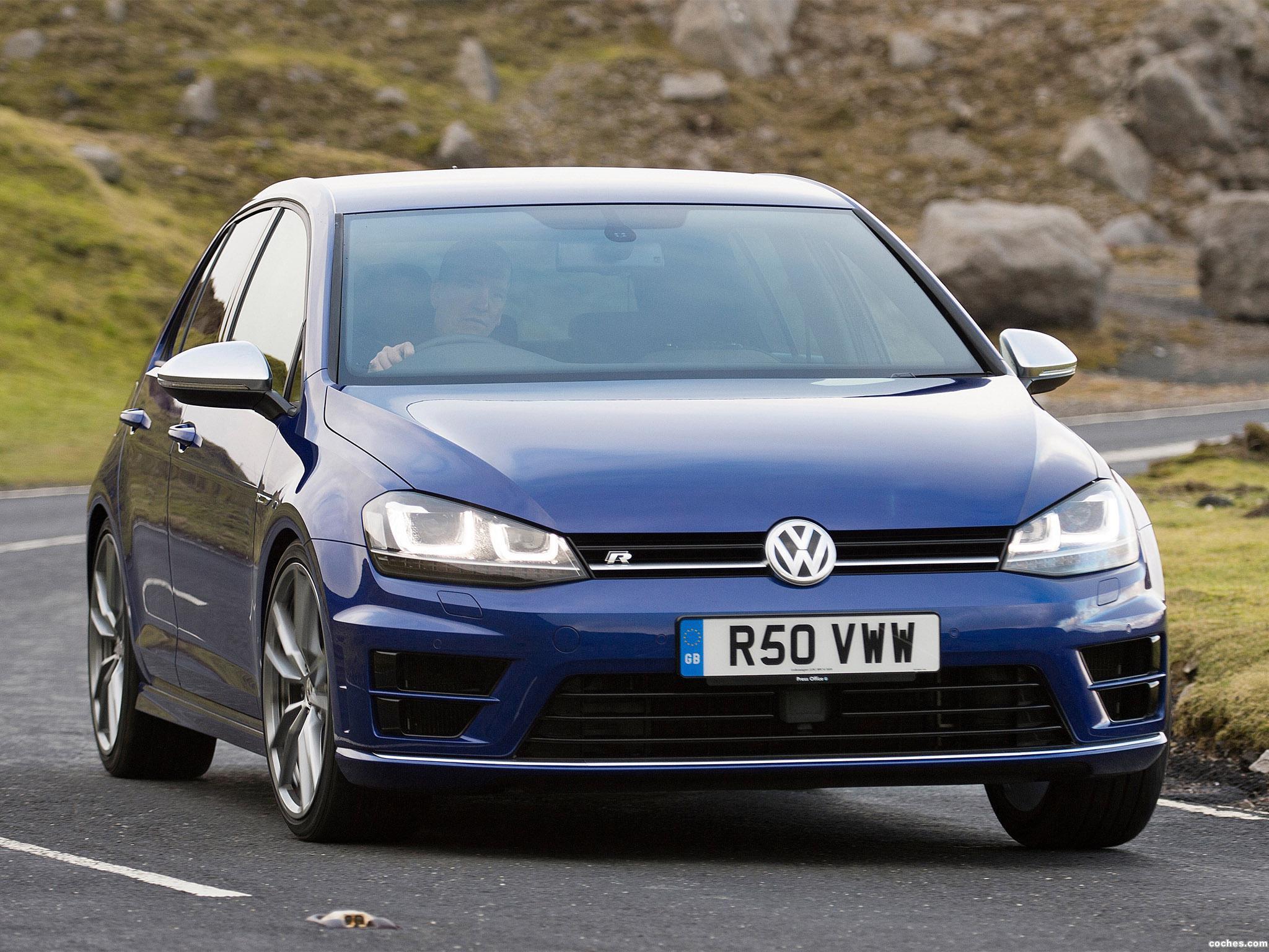 Foto 0 de Volkswagen Golf R 5 puertas UK 2014