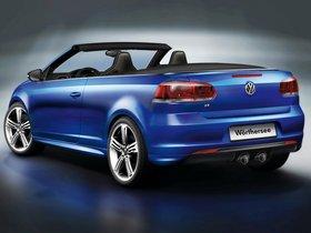 Ver foto 3 de Volkswagen Golf R Cabrio Concept 2011