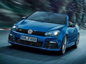 Fotos de Volkswagen Golf VI R Cabrio 2013