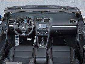 Ver foto 22 de Volkswagen Golf VI R Cabrio 2013